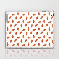 Orange Leaves Laptop & iPad Skin