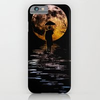 iPhone & iPod Case featuring Rainman at Moonrise by Dianne Delahunty