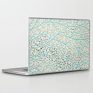 Laptop & iPad Skin featuring Berry Branches – Turqu… by Cat Coquillette