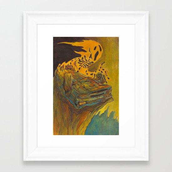 Totalled Framed Art Print