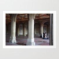 Central Park Soloist  Art Print