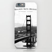 iPhone & iPod Case featuring Golden Gate Bridge - San Francisco by Deepti Munshaw