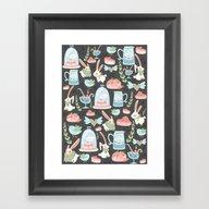 Bunny World Framed Art Print