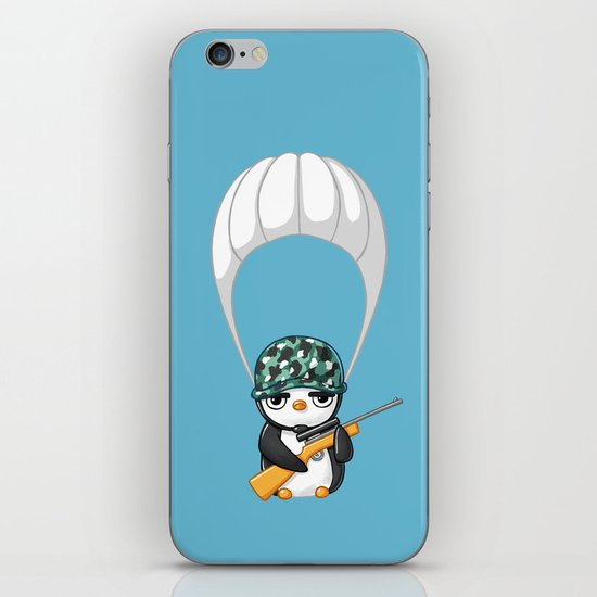 Commando iPhone & iPod Skin