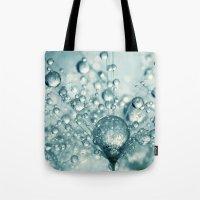 Droplets & Sparkles Tote Bag
