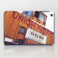 the union pacific caboose iPad Case