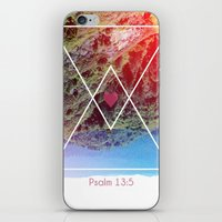 Psalms 13:5 iPhone & iPod Skin