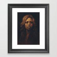 Laverne Cox Framed Art Print