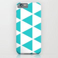 Sleyer Blue on White Pattern iPhone 6s Slim Case
