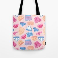 Underwear Pattern Tote Bag