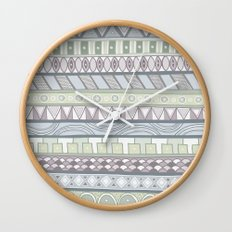 Simple Pattern Wall Clock