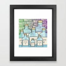 DrinkMe Framed Art Print
