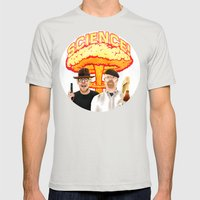 Mythbusters, for science! Mens Fitted Tee Silver SMALL