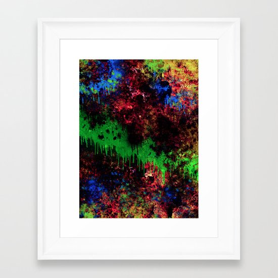 The Night Turns To Rust Framed Art Print