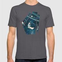 My Favourite Swing Ride Mens Fitted Tee Asphalt SMALL
