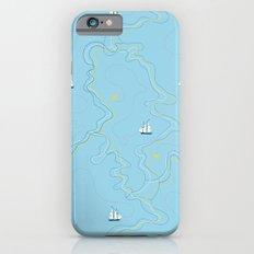 Sailing for the treasure iPhone 6 Slim Case