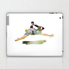 riding the rabbit Laptop & iPad Skin