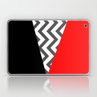 Color Blocked Chevron 10 Laptop & iPad Skin