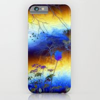 iPhone & iPod Case featuring ABSTRACT - My blue heaven by Valerie Anne Kelly