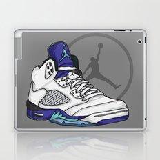 Jordan 5 (Grape) Laptop & iPad Skin