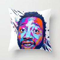 Ol' Dirty Bastard: Dead Rappers Serie Throw Pillow