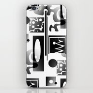 Doodle 1 iPhone & iPod Skin