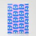 Bold Eyes II Stationery Cards