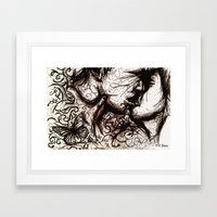 About The Chaos Theory A… Framed Art Print