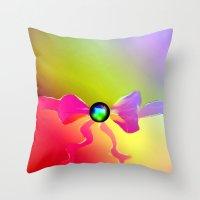 mystic pillow Throw Pillow