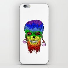 Melty face iPhone & iPod Skin