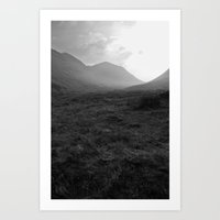Scottish Highlands - Glencoe Art Print