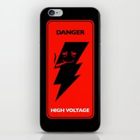 HIGH Voltage iPhone & iPod Skin