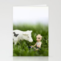 Baldy & Cow Stationery Cards