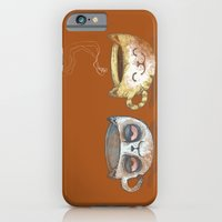 iPhone & iPod Case featuring Grumpy Cup, Happy Cup by LuisaPizza