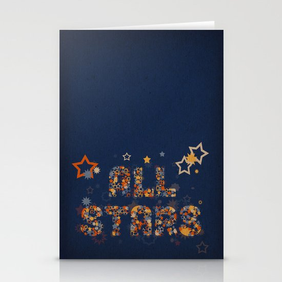 All Stars Stationery Card