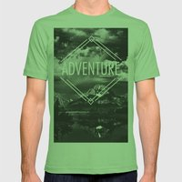 Adventure Mens Fitted Tee Grass SMALL