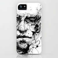 iPhone Cases featuring lines hold the memories by agnes-cecile