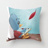 A Friend When I'm Lonely Throw Pillow