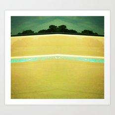 Beach to Paradise Art Print
