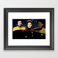 IT Trek Framed Art Print