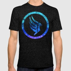 Mass Effect Paragon Mens Fitted Tee Tri-Black SMALL
