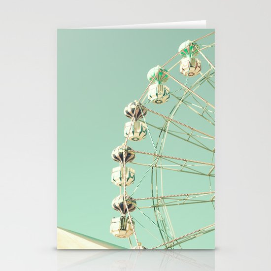 Ferris Wheel - The sky was the limit Stationery Card