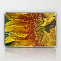 Inside The Sunflower Laptop & iPad Skin