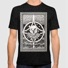 Resurrection of Beauty Mens Fitted Tee Tri-Black SMALL