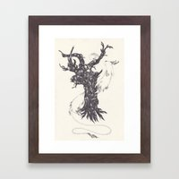 sepia Framed Art Print