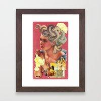 The Revelry Of Medusa Framed Art Print