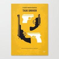 No087 My Taxi Driver Min… Canvas Print