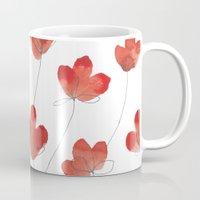 Poppy Flowers 2 Mug