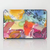 Abstract Floral Watercol… iPad Case