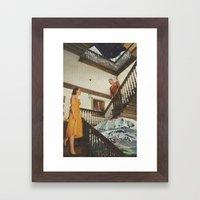 The Staircase Framed Art Print